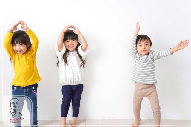 ورزش های اسان برای کودکان